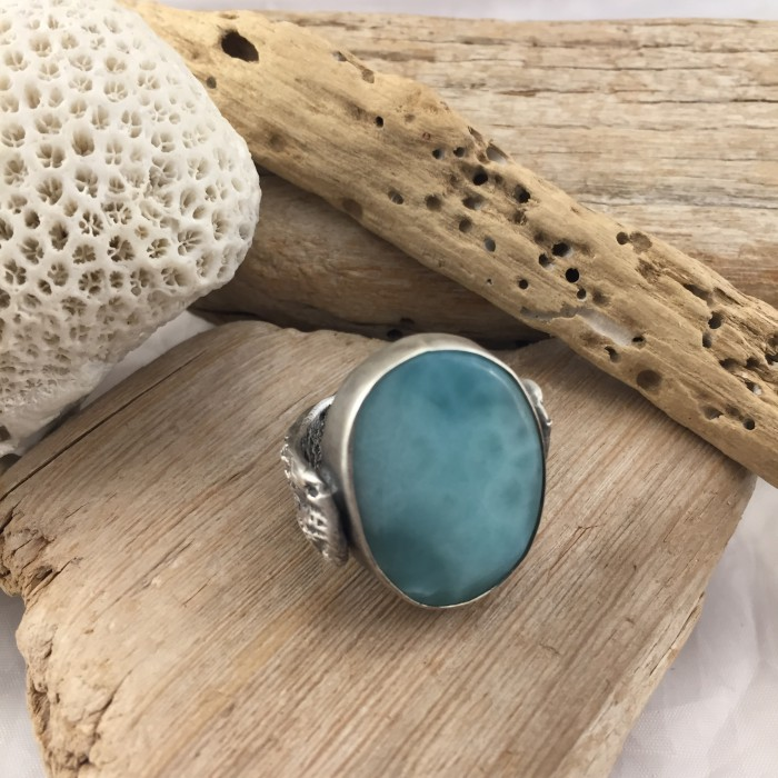 ANELL LARIMAR anell blau anell gran