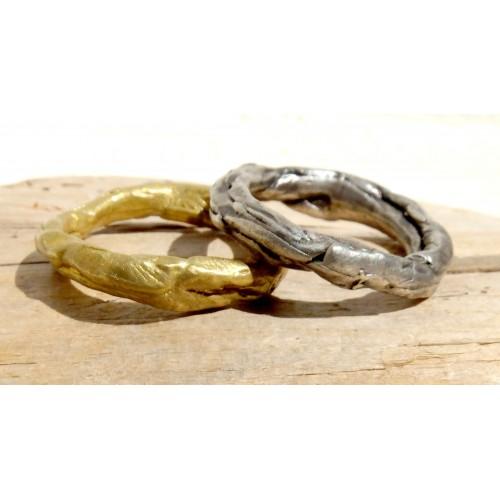Alianza de boda original cruce de los ríos salvajes