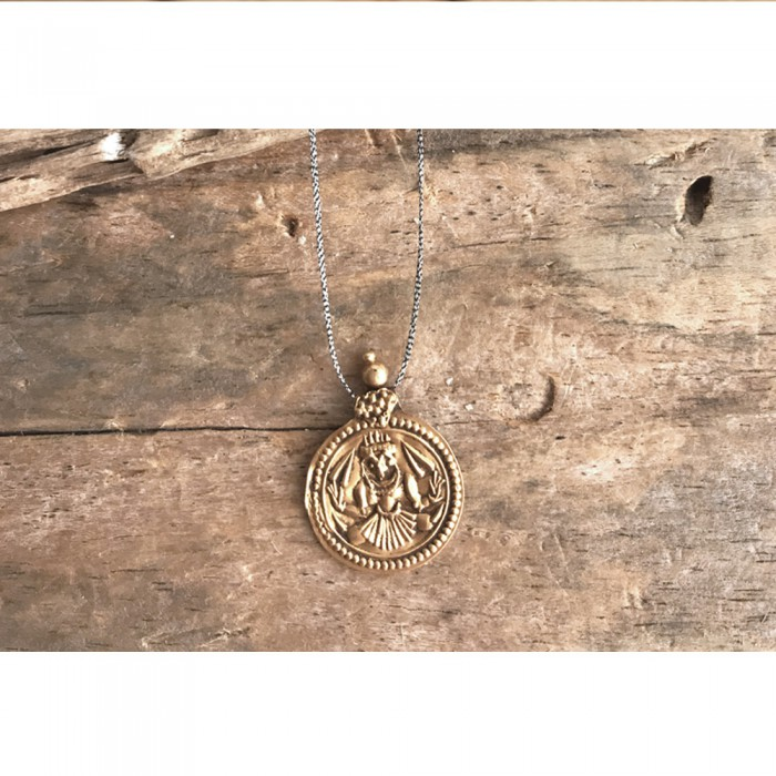 ANTIK GOLD MEDALLION