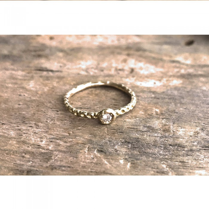ANILLO MAGIC RAIN ORO Y DIAMANTE