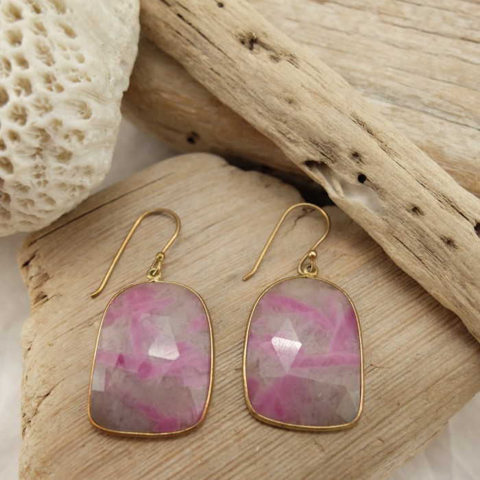 RUBY DEMETER EARRINGS