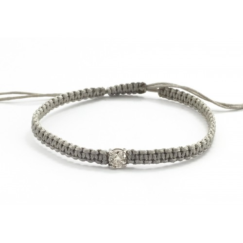 DIAMOND WHITE GOLD BRACELET